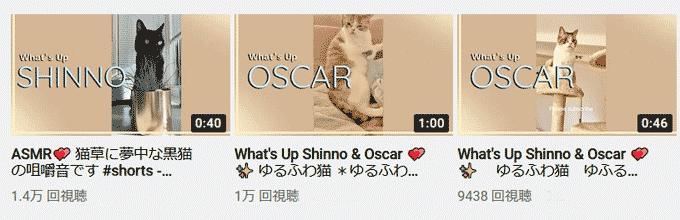 YouTubeショート動画